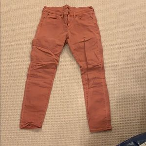 J. Crew Nantucket red jeans